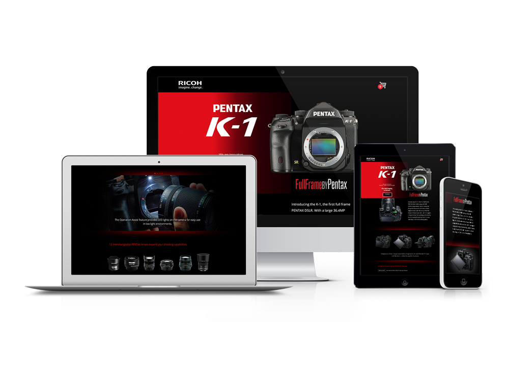 The launch kit helped boost the K-1 camera sales